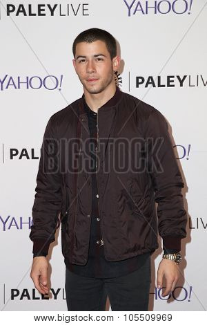 LOS ANGELES - OCT 19:  Nick Jonas at the An Evening with