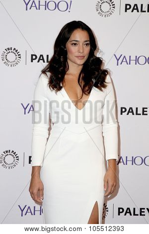 LOS ANGELES - OCT 19:  Natalie Martinez at the An Evening with