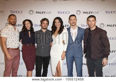 LOS ANGELES - OCT 19:  Kingdom cast at the An Evening with