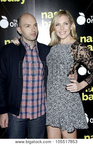 LOS ANGELES - OCT 19:  Paul Scheer, June Diane Raphael at the