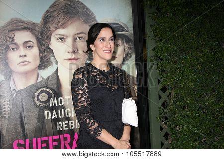 LOS ANGELES - OCT 20:  Sarah Gavron at the