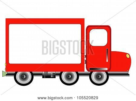 Red Advertising Delivery