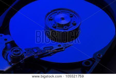 Hard Disk Drive Blue