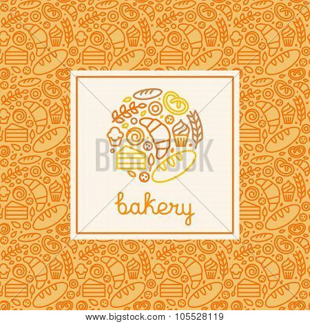 Bakery Concept And Logo Design Template