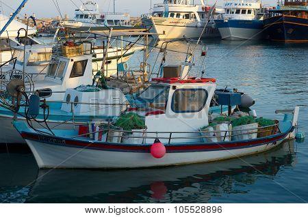 Ayia Napa, Fishing boats and yachts