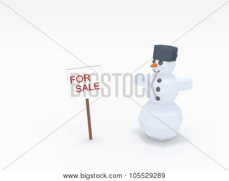 Snowman Board For Sale