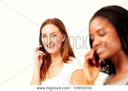 Girls On Phone