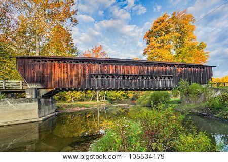 Benetka Road Covered Bridge