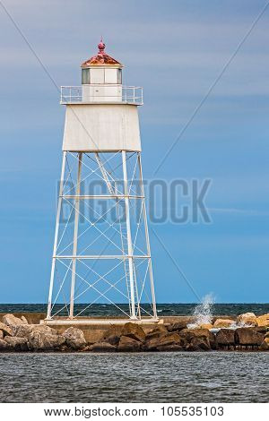 The Grand Marais Light