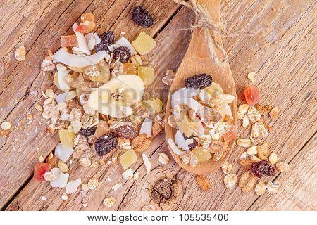Cereals Muesli Food