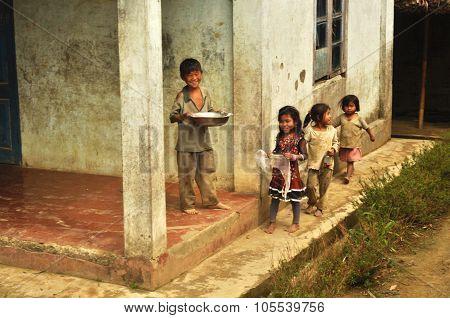 Children In Nagaland