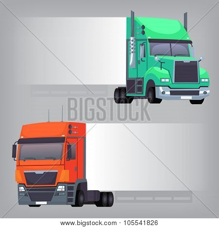 Trucks with long side
