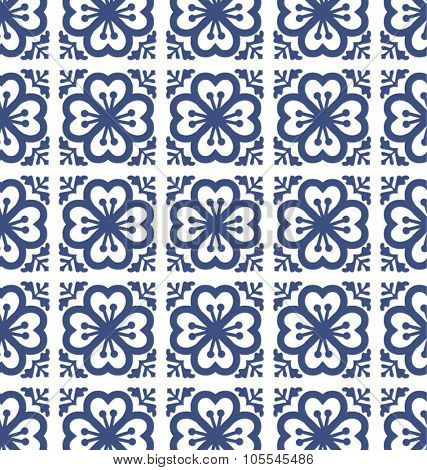 floral tiles pattern background geometric style. classic and elegant vector file. For fashion, prints,textile, branding projects, craft, website design and more...