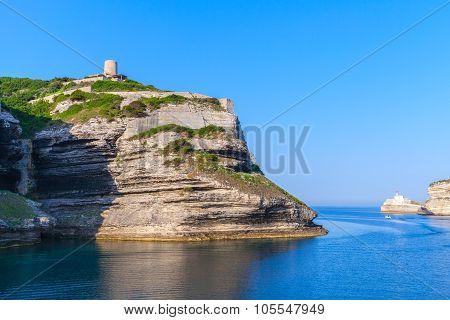 Bay Of Bonifacio, Coastal Landscape, Corsica