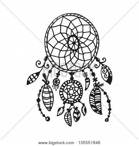 Hand drawn indian illustration