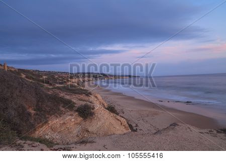 Sunset / evening at Crystal Cove Beach