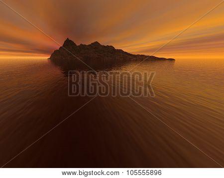 Fantasy Deserted Island