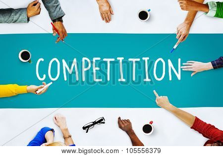 Competition Contest Contention Game Race Concept