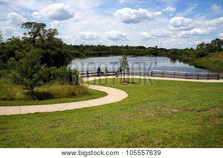 Trail to Budde Lake