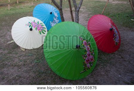 Handmade Umbrella Chiang Mai Thailand