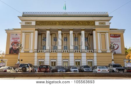 Almaty - Opera And Ballet Theatre