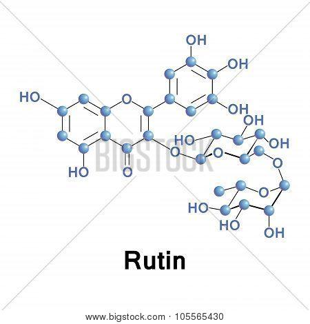 Rutin rutoside sophorin