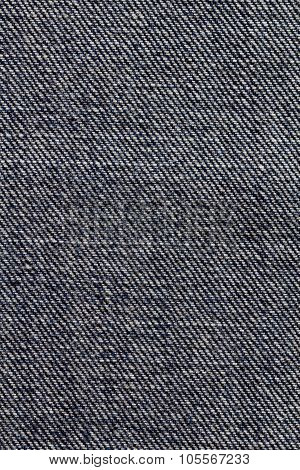 Reversed blue jean fabric texture background