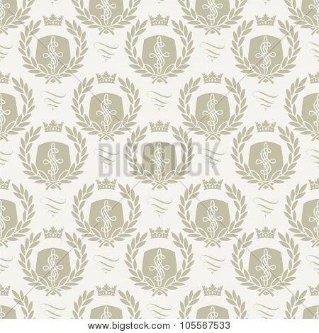 Seamless pattern crest
