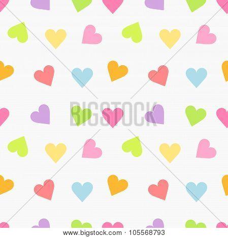 Cute Seamless Hearts