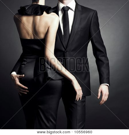 Young Elegant Couple