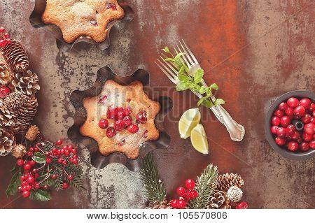 Cranberry cake