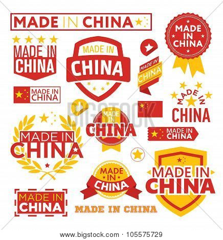 Labels made ??in China