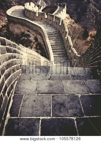 Great Wall of China Historical Cultural Concept