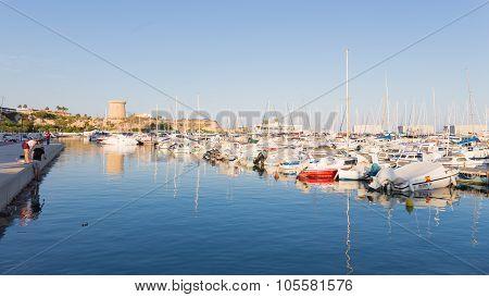 Fishing Port Of El Campello