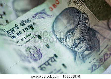 Banknotes Of One Hundred Rupees.