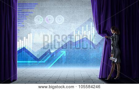 Making presentation
