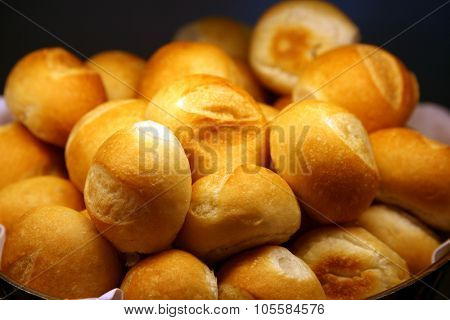 Piping Hot Fresh Baked Bread Rolls right from the oven. Fresh Bread is enjoyed by hungry people around the world. Bread is an important part of any diet.
