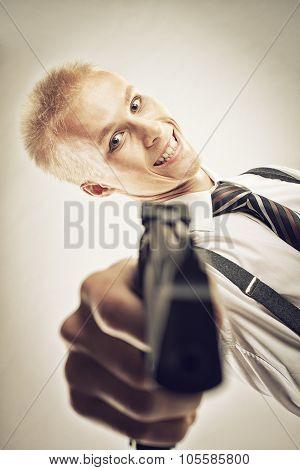 Gangster With Gun