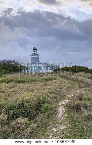 Clouds Above Los Morrillos Lighthouse, Cabo Rojo, Puerto  Rico