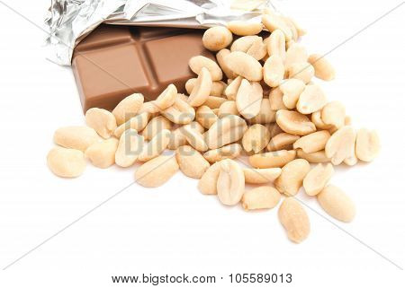 Chocolate And Some Peanuts