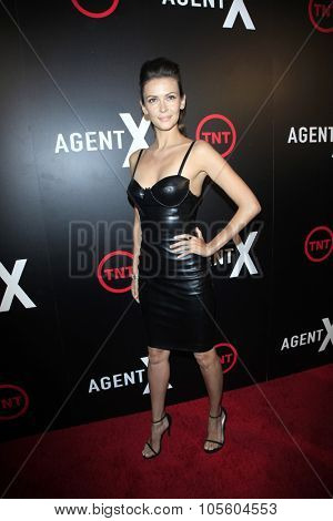 LOS ANGELES - OCT 20:  Olga Fonda at the TNT's