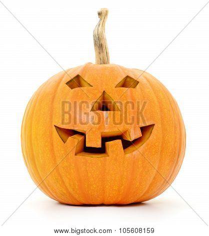 Halloween Jack Lantern Pumpkin.