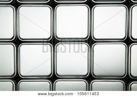 Texture Of Metal Box