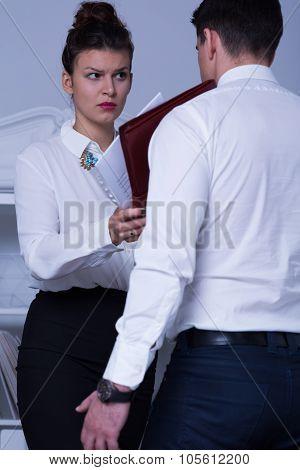 Demanding Female Leader