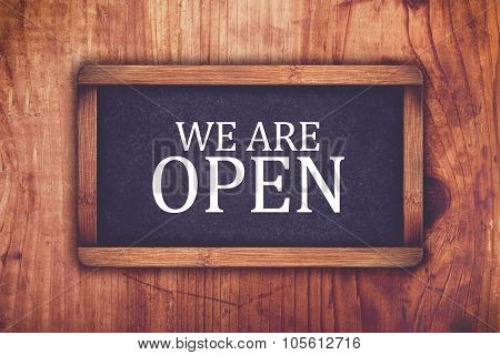 We Are Open Shop Message Board