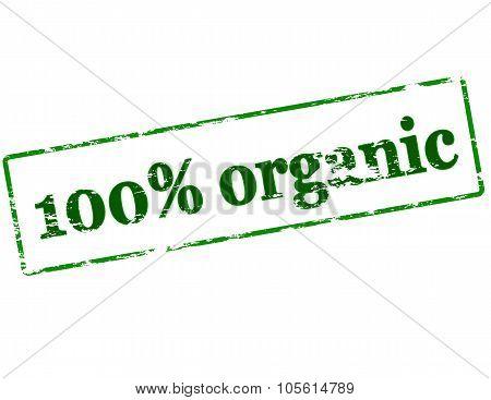 One Hundred Percent Organic