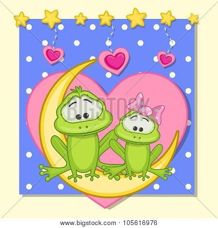 Lovers Frogs