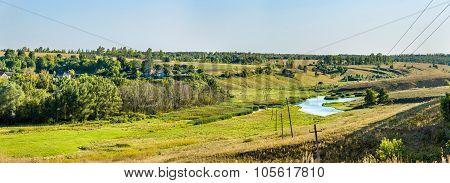 Meadows In Bolshoe Gorodkovo - Kursk Region, Russia