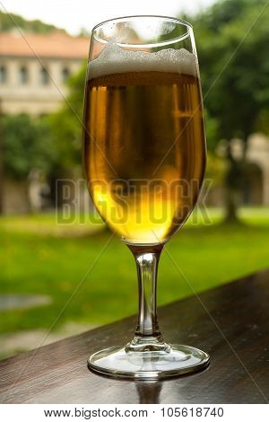 A Refreshing Glass Of Beer