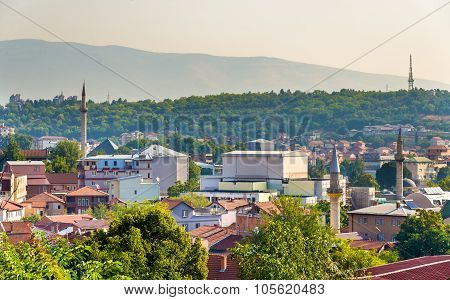 View Of The Old Town Of Skopje - Macedonia